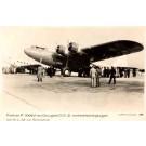 KLM Douglas Real Photo Aviation