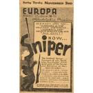Advert WWI Russian Movie Sniper