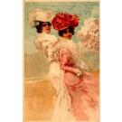Art Nouveau Two Beauties