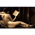 French Risque Nude Real Photo #1086