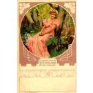 Lady Camomile Art Nouveau