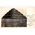 Egypt Pyramid Real Photo