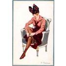 Fabiano Lady Hat Boots Art Nouveau