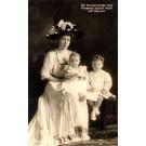 Swedish Crown Princess Children RPPC