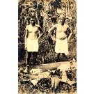 Hawaiian Men Real Photo