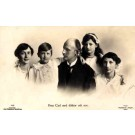 Prince Carl Family Real Photo