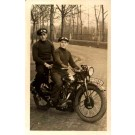 Motorcycle Riders Real Photo