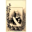 Greek King George Real Photo