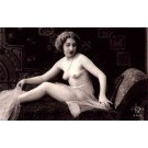 French Risque Nude Real Photo #919