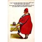 Fat Lady Golf Comic British