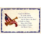 Flag Pipe Embroidered Novelty