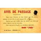 Black Advert French