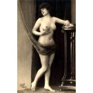 French Risque Nude Real Photo #906