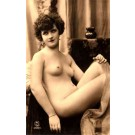 French Risque Nude Real Photo #905