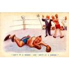 Boxing Comic Tuck