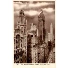 Towers Auto Trolley Real Photo NYC