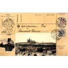 Mailman Czechoslovakia Stamps