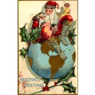 Santa Claus Globe Girl OH