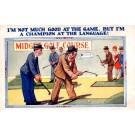 Golf Players Humorous British