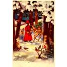 Santa Claus Donkey Doll Pipe Drum