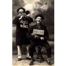 Clowns Pipe Mandolin RP Circus