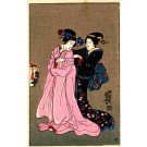 Japanese Art Nouveau Girls