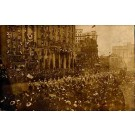 Womens Suffrage March Real Photo