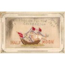Embroidered Silk Ship Hudson-Fulton Expo