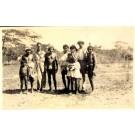 Pan-Am PAA Men with Columbian Indians RP
