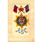 Embroidered Silk ASC Novelty