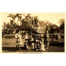 Seminole Indian Woman Children RP FL