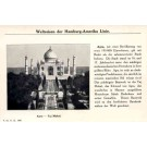 Hamburg-America Line India Taj Mahal
