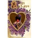 Boileau Girl Violets St. Valentine's
