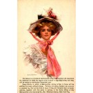 Boileau Girl Advert for Calendar 1908