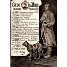 Red Cross Dog and Soldier WWI