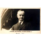 President Coolidge Real Photo