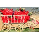 Christmas Dove-Drawn Cart Novelty